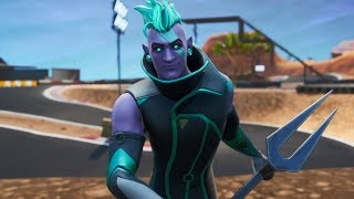 "I arrive at 690 POINTS in Arena with the new skin ""VECTOR"" - Fortnite"