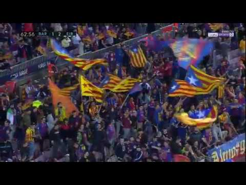 Barcelona vs Eibar 1 2 GOAL David Junca 21 05 2017