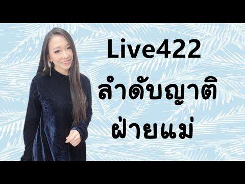 Live 422 : ลำดับญาติฝ่ายแม่ Learn Chinese by Poppy Yang