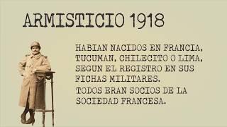 Armisticio 1918 en Tucumán
