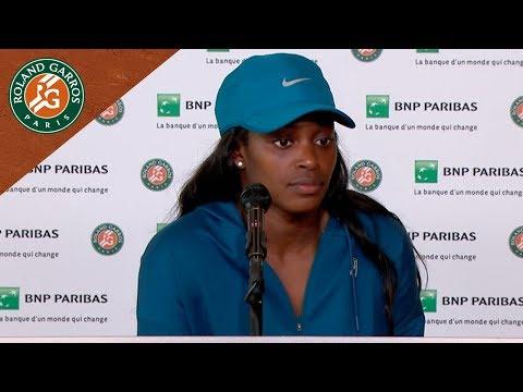 Sloane Stephens - Press Conference after Final I Roland-Garros 2018