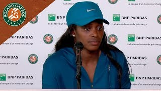 Sloane Stephens - Press Conference after Final I Roland-Garros 2018