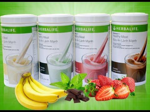Cách pha Herbalife giảm cân chính xác nhất, giảm cân nhanh nhất