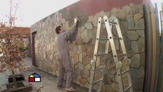 ¿Cómo revestir con piedra un muro exterior? - Sodimac Homecenter Argentina