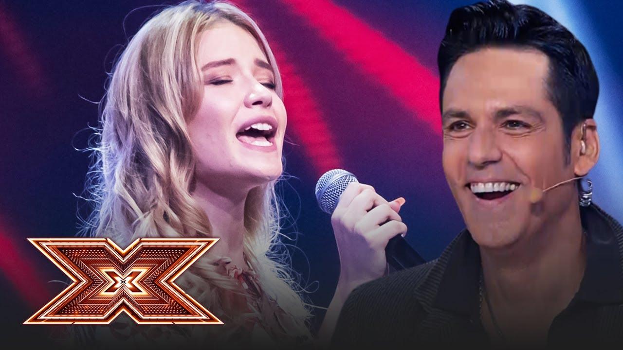 Piele de găină! Vezi cum cântă Oana Velea piesa Praying (Kesha), la X Factor!