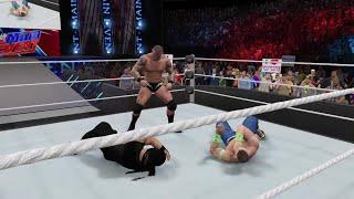 "WWE 2K15 John Cena  vs Roman Reigns "" WWE Univers "" 2015 (PS4) HD"
