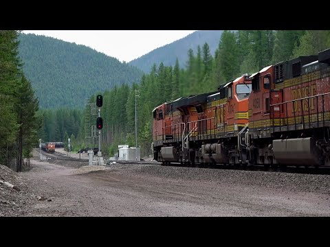 BNSF's Marias Pass: A Railroad Superhighway