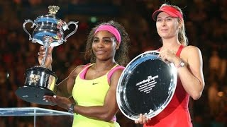 Serena Williams VS Maria Sharapova 2015 AO Final(Full Match)