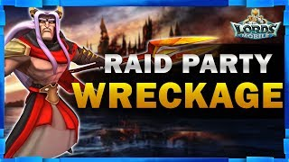 4 1 BILLION MIGHT PLAYERS ZEROED IN A MASSIVE RAID PARTY - Lords Mobile