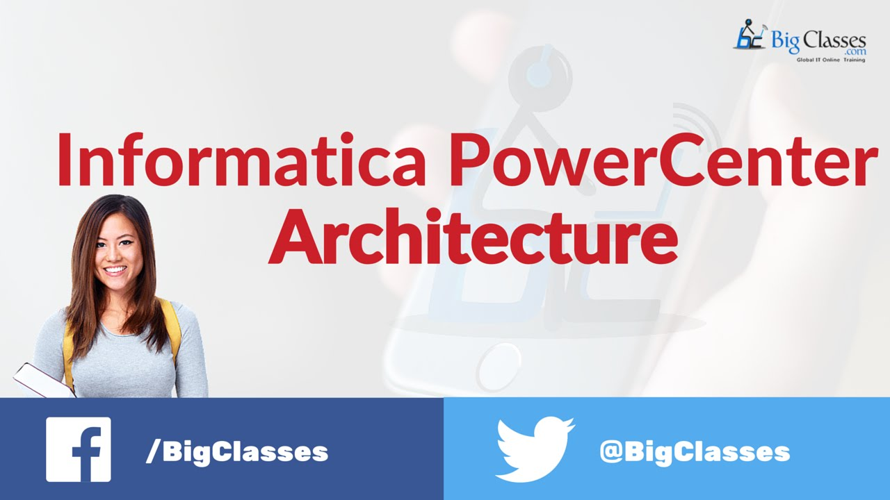 Informatica powercenter architecture informatica online for Informatica 9 architecture