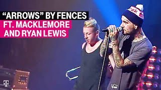 T Mobile Presents The First Performance Of Arrows By Fences Macklemore And Ryan Lewis