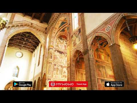 Santa Croce – Giotto – Florence – Audio Guide – MyWoWo Travel App