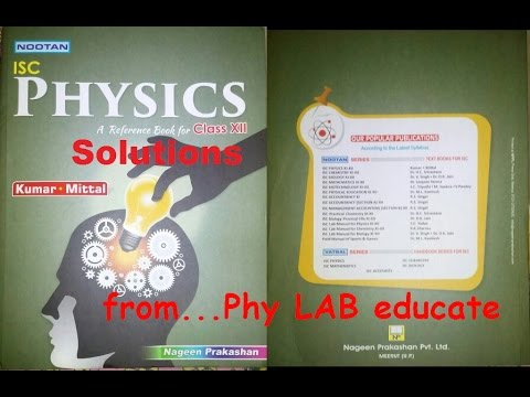 Q 7) Electrostatics:PhyLab-Educate: Solution to Numerical problems