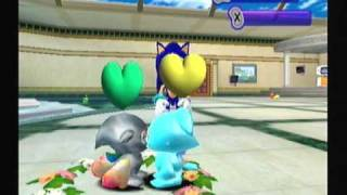 [translucent chao combos] Shiny sky blue + jewel chao!