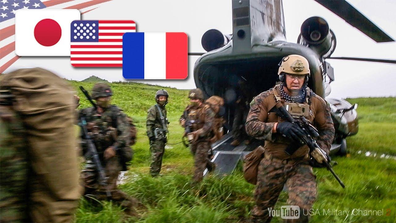 【フランス外人部隊が初参加】日米仏の精鋭部隊で離島を奪還!多国間軍事演習ジャンヌダルク21
