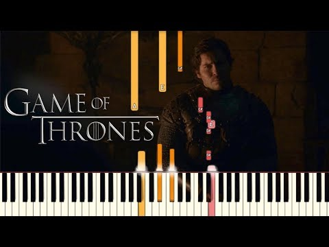 Jenny of Oldstones - Game of Thrones  Piano Tutorial Synthesia