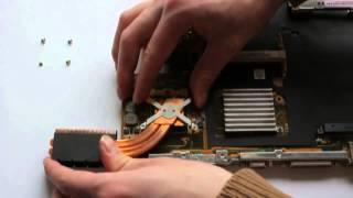 Відео інструкція з розбирання ноутбука Asus A6R