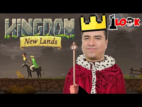 THE KING HAS RETURNED ! Kingdom New Lands Mobile (1st Look iOS Gameplay)