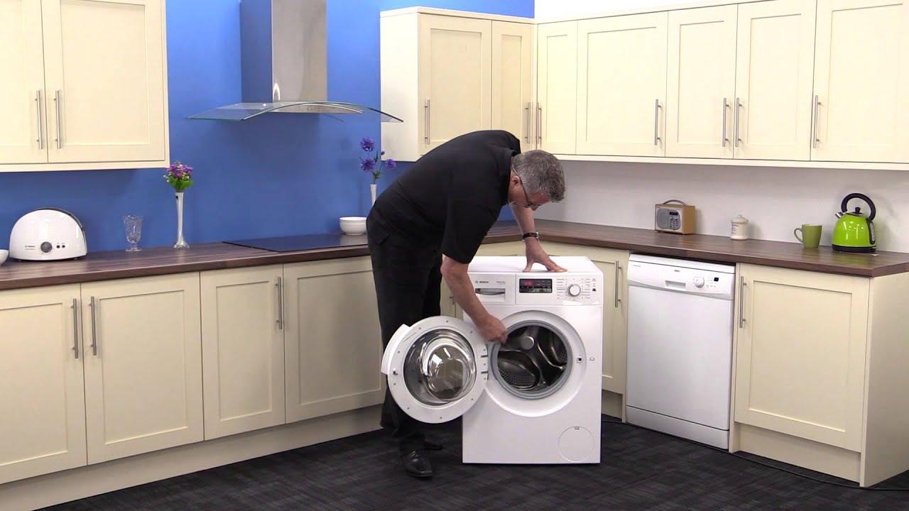 Bosch washer dryer Manual Exxcel