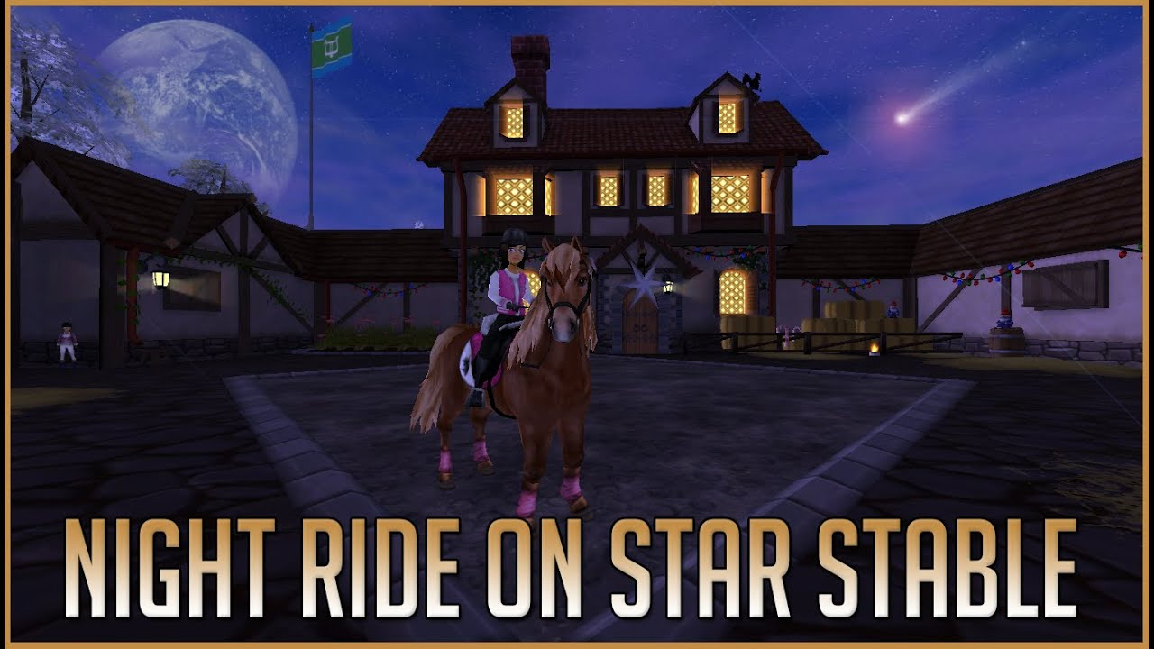 night time ride on star stable youtube. Black Bedroom Furniture Sets. Home Design Ideas