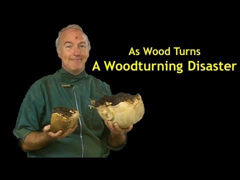 Woodturning Disaster Youtube