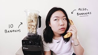 I ate 10 bananas a day for 2 years (not kidding)