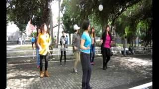 Gambar cover Gemu Fa Mi Re - Line Dance (岡山大後協媽媽韻律班)