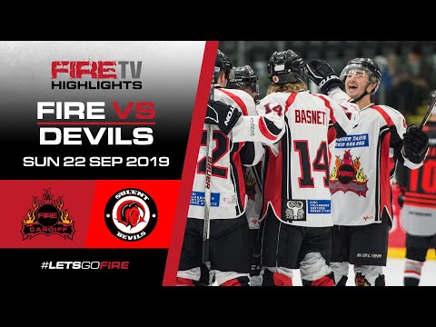 Cardiff Fire v Solent Devils 22/09/19