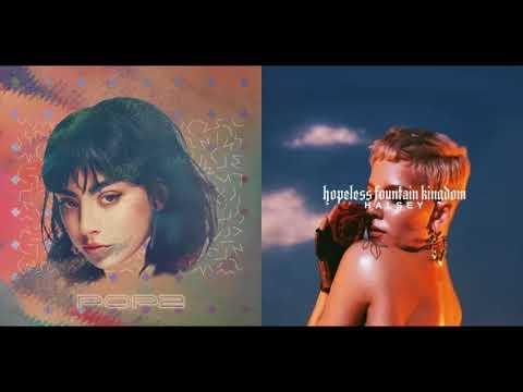 Charli XCX vs. Halsey - Lucky vs. Hopeless (ft. Cashmere Cat) [Mixed Mashup]