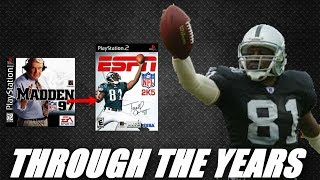 TIM BROWN THROUGH THE YEARS - MADDEN 97 TO ESPN NFL 2K5