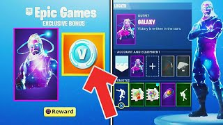 HAVE THE SKIN -GALAXY - 15000 V-BUCKS - THANKS TO FORTNITE ANDROID!