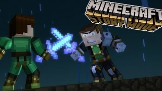 FINDING LAND!!!! | Minecraft : Story Mode | Episode 5 [4]