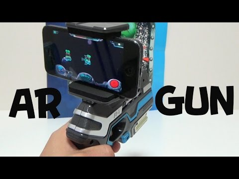 AR-GUN augmented reality virtual reality Unboxing Review Toy