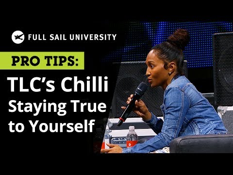 TLC's Chilli on How to Stay True to Yourself in the Music Business | Full Sail University