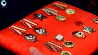 Ордена Красного Знамени и Орден Красной Звезды передали в музей новосибирского военного училища