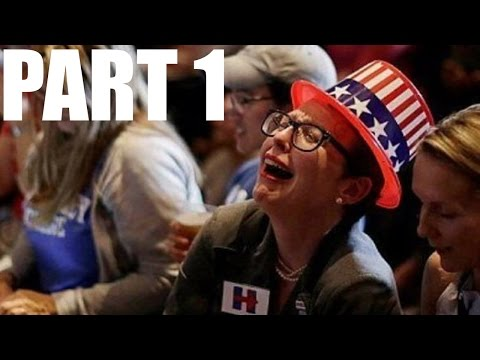LIBERALS Freak Out over TRUMP winning the election. Part 1 (Documentation of the Fall out)