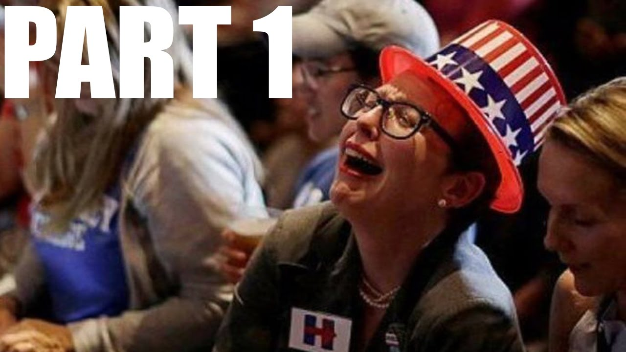 Liberals freak out over trump winning the election part 1 documentation of the fall out youtube