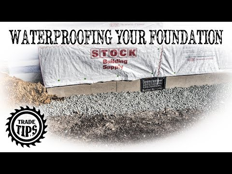 Waterproofing A House Foundation, Waterproofing, Drainage, French Drain, and Grading -Trade Tips