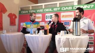 Pressekonferenz  1. TSV Havelse gegen 1.FC Magdeburg 4:0 (3:0) - www.sportfotos-md.de