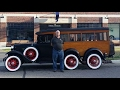 Ride in 1930 Ford Model 4-wh-drive A Private Bus (one of a kind)