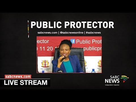 Public Protector media briefing, 19 December 2018