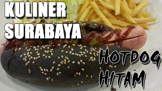 Kuliner Surabaya  Burger hitam