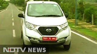 Raftaar: First look at the Datsun redi-GO