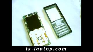 Disassembly Sony Ericsson T650i - Battery Glass Screen Replacement