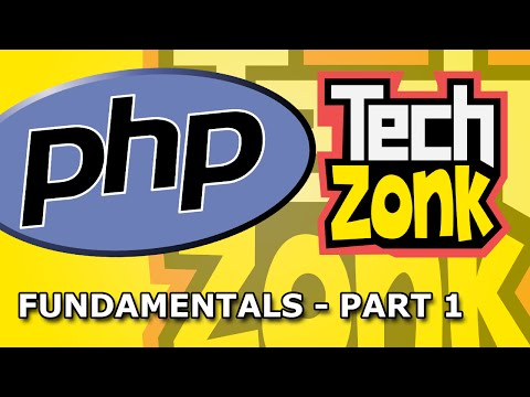 PHP Fundamentals for Newbies Part 1 - Variables