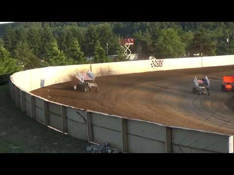 Grays Harbor Raceway, 2017 Fred Brownfield Classic, Night 2, ASCS National Series B-Main 1 and 2