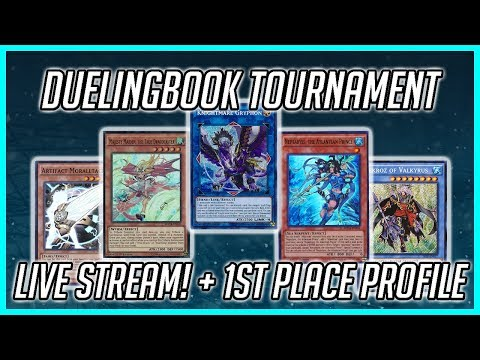 Duelingbook Tournament Live Stream + First Place Deck Profile! - Part 2 (May 2018)