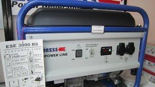 Бензиновый генератор Endress (Эндресс) ESE 3000 BS(, 2016-04-12T14:59:28.000Z)