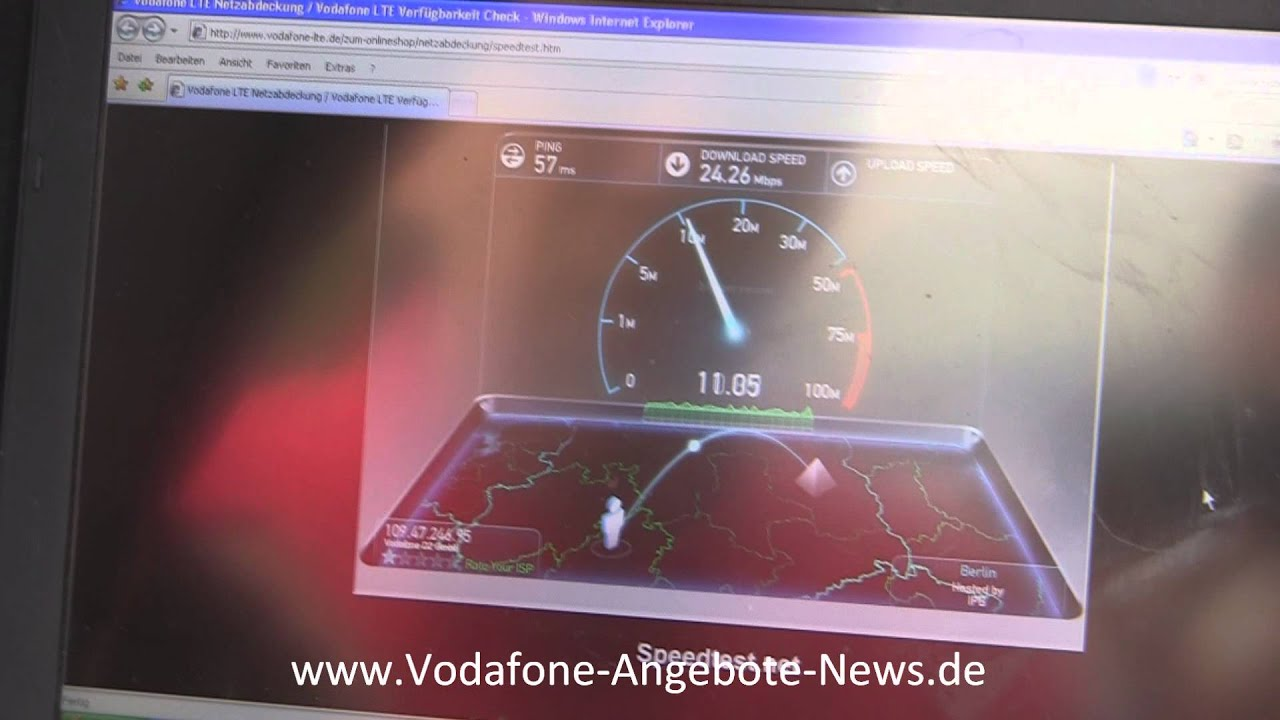 speed check vodafone