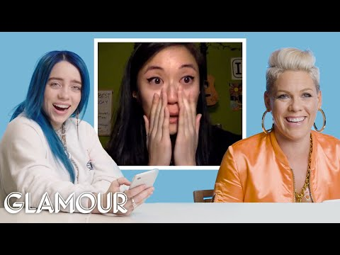 Billie Eilish, Pink, Halsey and More Singers' Most Emotional Moments on You Sang My Song | Glamour